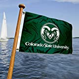 Colorado State University Golf Cart and Boat Flag