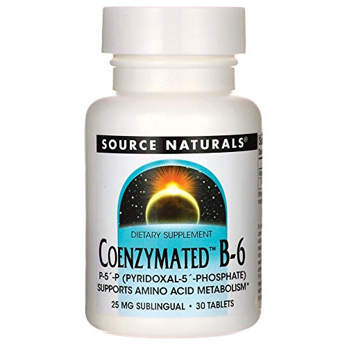 Coenzymated Vitamin B-6 25 Milligrams 30 Tabs - Sublingual 25 Mg 30 Tablets