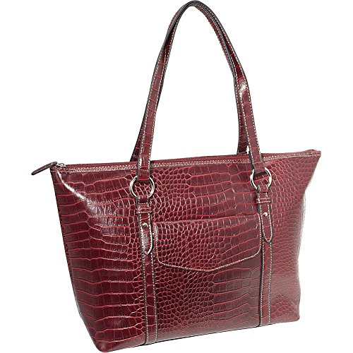 sorella-new-york-exotic-marleen-laptop-tote-red