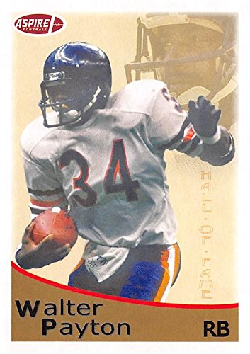 Jackson Sage - Walter Payton Football Card (Jackson State, Chicago Bears) 2018 SAGE HIT Aspire Hall of Fame #40