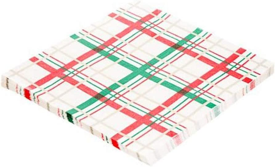 THE SPIRIT OF XMAS 16 Pack Christmas Paper Napkins Perfect for Christmas Parties and Dinners UK Schone Products