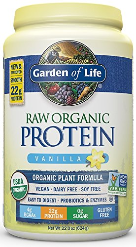 Amazoncom Garden of Life Organic Vegan Protein Powder with