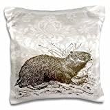 PS Vintage - Vintage Animals in nature art - 16x16 inch Pillow Case (pc_108712_1)