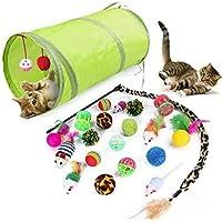 allmart AC040101 Cat Toys 21Pcs Kitten Toys Cat Interactive Toys Set for Indoor Cats