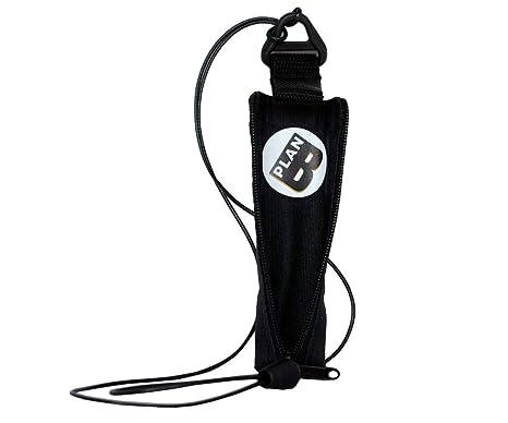 Plan B Funda Protectora vapeador Myblu Basic - 12,5 X 3,5 cm cordón de 74 cm Negra Hecha en España