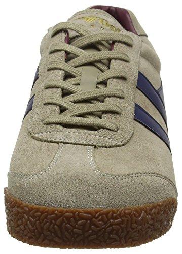 Gola Herren Harrier Fashion Sneaker Stein / Marine / Burgund