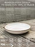 Mora Ceramic Large Pasta Bowls 30oz, Set of 4