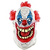 Balai Halloween Mask for Festival Cosplay Halloween Costume Party Props Masks Horror Mask - Latex Horror Clown Mask Evil Clown Mask Pumpkin Mask Scared Ghost Head Costume Decorations