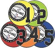 """Spalding NBA Shooting Spots Training Aid, 8"""" Multi"""