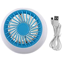 【Best Deals】OriGlam Portable Rechargeable Fan, Mini USB Fan Personal Cooling Fan, USB Table Rechargeable Fan for Traveling Hiking Fishing Camping or Desktop
