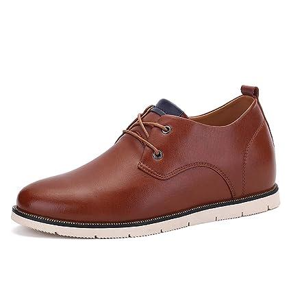 b567333489a1 Amazon.com  Hishoes Men s Fashion Oxford Casual Classic British ...