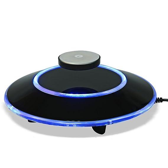 Plataforma de levitación magnética, exhibición de la plataforma de la revolución de los iones flotantes de Maglev del LED Exhibición del regalo del ...