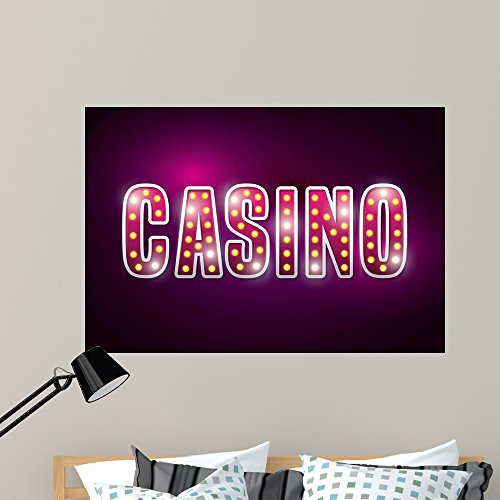 Wallmonkeys Spectacular Casino Wall Mural Peel and Stick Vinyl Graphic (48 in W x 33 in H) WM368454
