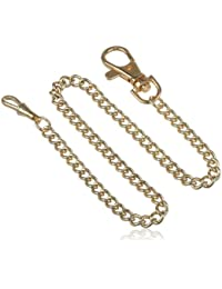3548-G Stainless Steel Gold-Plated Pocket Watch Chain