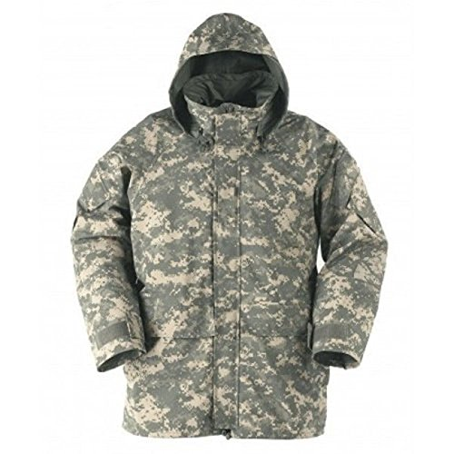 Gore Tex Cold Weather Parka (New GI Genuine US Army GEN 2 II EWCWS EWCS Goretex Waterproof ACU Digital Parka Jacket Coat L (Large/Regular))