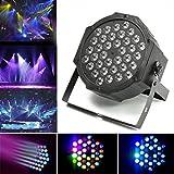 Jeteven 36W LED Stage Laser Lights DJ Par Lights RGB DMX512 Auto/Sound...