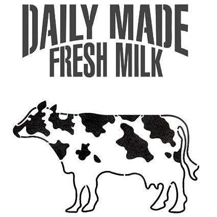 Amazon Com J Boutique Stencils Milk Cow Dairy Cattle Stencil For