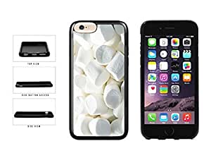 Cute Yummy Marshmallows TPU RUBBER Phone Case Back Cover Apple iphone 5 5s inches screen) includes diy case Cloth and Warranty Label
