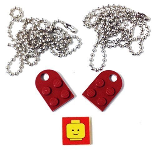 Lego Parts Valentine Necklace Decorative product image