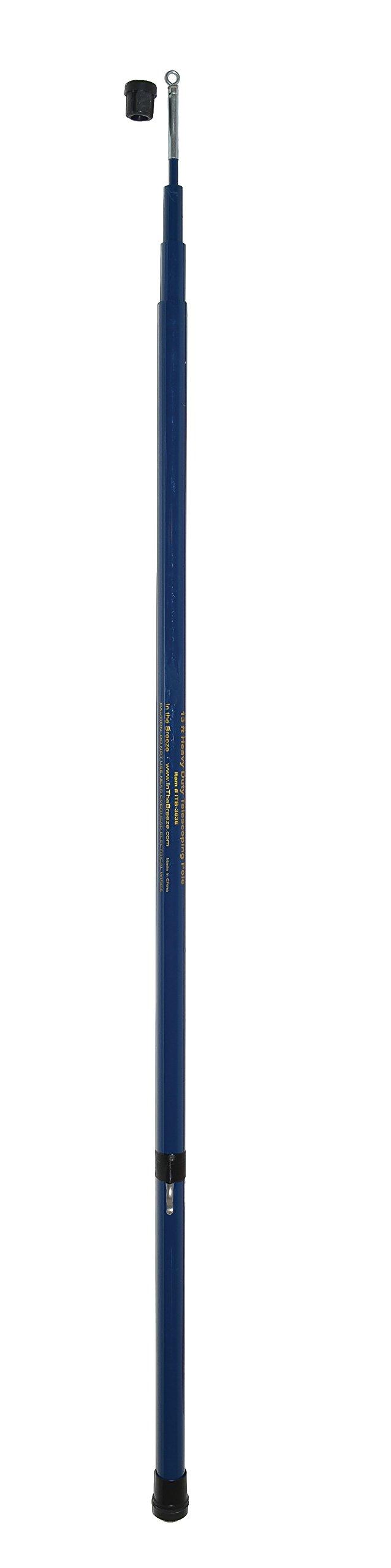 In the Breeze Heavy Duty Telescoping Pole - 13-Foot