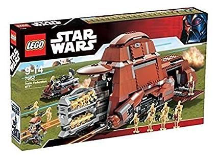 Amazon Lego Star Wars The Phantom Menace Trade Federation Mtt