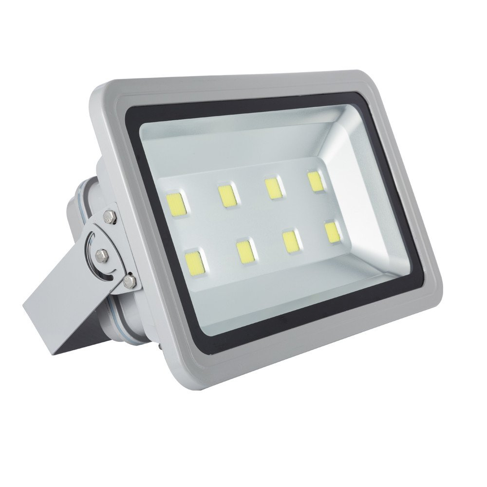 Musuger 400 watt Super Bright Outdoor High Power LED Flood Lights with Backpack Waterproof 85V-265V AC (Daylight) by Musuger