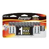 Energizer E91BPW16 Max AA Alkaline Batteries AA-16