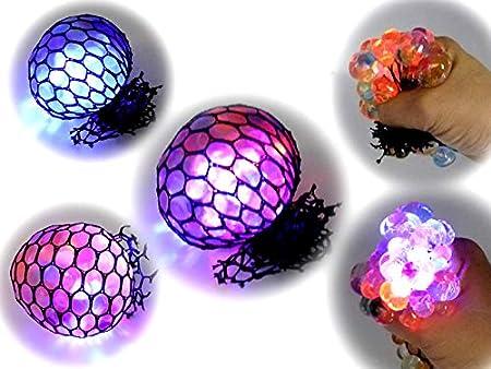 COOLMINIPRIX - Juego de 3 - Pelota antiestrés Squash Ball Luminosa ...