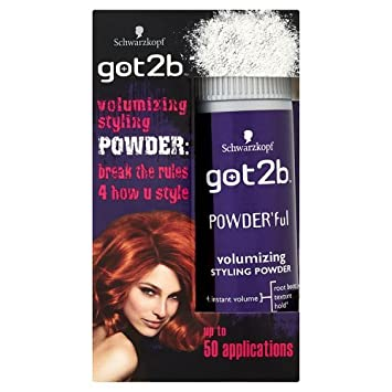 Schwarzkopf Got2b Powder Ful Vol Style Powder 10g Amazon Co Uk Beauty