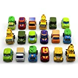 6Pcs/Set Mini Pull Back Model Car Kids Children Gift Educational Toy Car Random Color