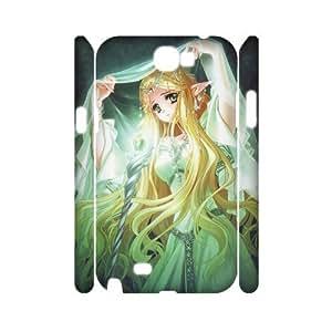 GRTT Gorgeous Samsung Galaxy Note 2 N7100 case Elves Customized Hard Case RT736943