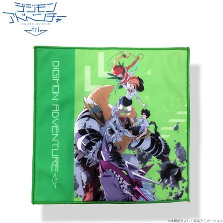 Digimon Adventure tri. Poster Collection Double Cross Mini Towel Chapter 2, 'determination'
