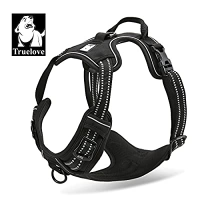 Comfort Control Dog Harness Adjustable Puppy Walk Harness Reflective Vest Anti-pull Safety Vest Truelove TLH5651