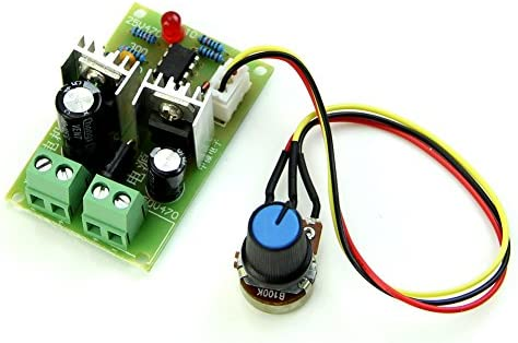 2PCS 12V-36V Pulse Width PWM DC Motor Speed Regulator Controller Switch 12V 3A
