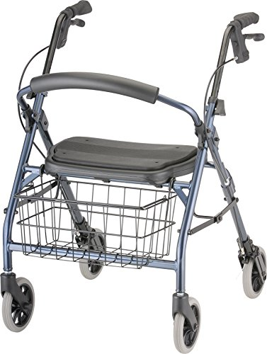 NOVA Cruiser Deluxe Jr Rollator Walker, Blue