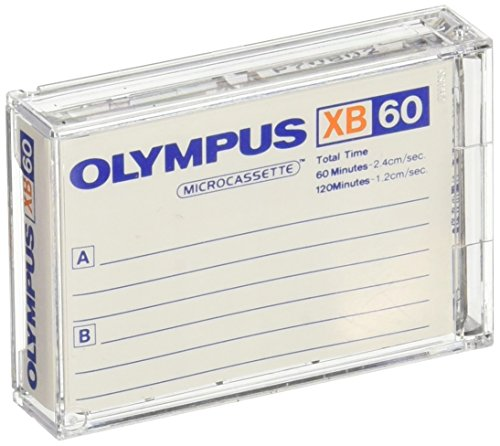 Olympus XB-60 SB / 10 Pack Standard Blank Microcassette Tapes MC-60 by Olympus (Image #1)