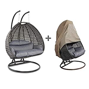 51t188fPXFL._SS300_ Hanging Wicker Swing Chairs & Hanging Rattan Chairs