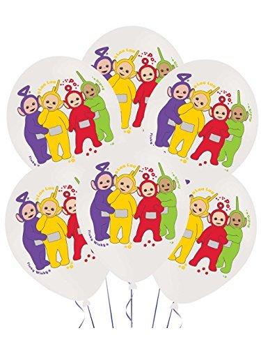 Teletubbies Balloon - Teletubbies Pack Of 6 Balloons