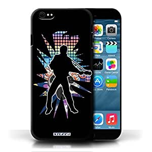 KOBALT? Protective Hard Back Phone Case / Cover for Ipod Touch 5 | Elvis Black Design | Rock Star Pose Collection