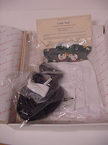 Shirley Temple Doll Clothes - THE SHIRLEY TEMPLE DRESS UP DOLL CURLY TOP OUTFIT BY DANBURY MINT by Danbury Mint
