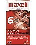 Maxell Videocassette HGX-Gold  Premium High Grade T-120 VHS Tape
