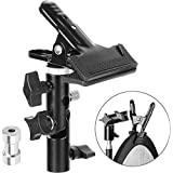 Anwenk Reflector Stand Holder Light Stand Bracket Mount Umbrella Bracket Photography Studio Heavy Duty Metal Clamp Holder for Reflector