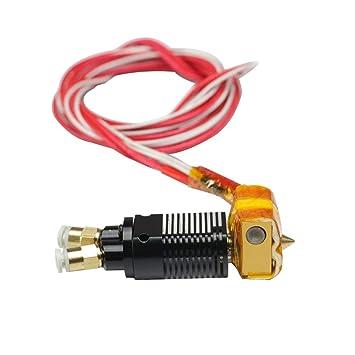 MK8 - Kit de extrusor 2 en 1 para impresora 3D, boquilla de 1,75 ...