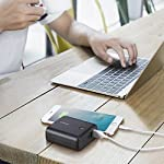 Anker PowerCore Fusion 5000, Portable Charger 5000mAh 2-in-1 with Dual USB Wall Charger, Foldable AC Plug and PowerIQ… 13 The Anker Advantage: Join the 50 million+ powered by America's leading USB charging brand. The Ultimate 2-in-1 Charger: A hybrid high-capacity portable battery and dual-port wall charger in one sleek package. High-Speed Charging: In the wall or on-the-go, Anker's exclusive PowerIQ and VoltageBoost technologies ensure that all devices receive their fastest possible charge. Does not support Qualcomm Quick Charge.