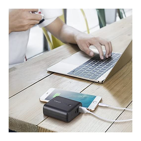 Anker PowerCore Fusion 5000, Portable Charger 5000mAh 2-in-1 with Dual USB Wall Charger, Foldable AC Plug and PowerIQ… 6 The Anker Advantage: Join the 50 million+ powered by America's leading USB charging brand. The Ultimate 2-in-1 Charger: A hybrid high-capacity portable battery and dual-port wall charger in one sleek package. High-Speed Charging: In the wall or on-the-go, Anker's exclusive PowerIQ and VoltageBoost technologies ensure that all devices receive their fastest possible charge. Does not support Qualcomm Quick Charge.