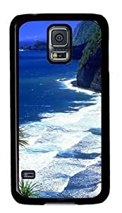 Rosesea Custom Personalized Hawaii Beach PC Case Cover for Samsung S5 and Samsung Galaxy S5