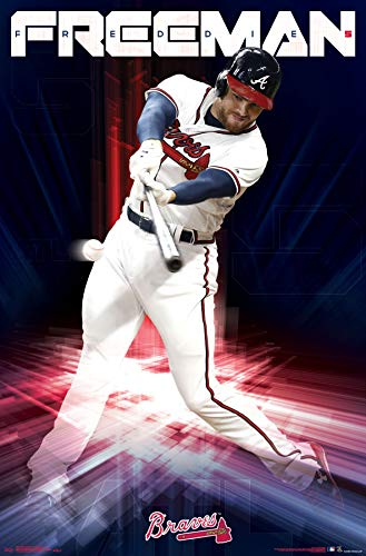 Trends International Atlanta Braves - Freddie Freeman Wall Poster 22.375