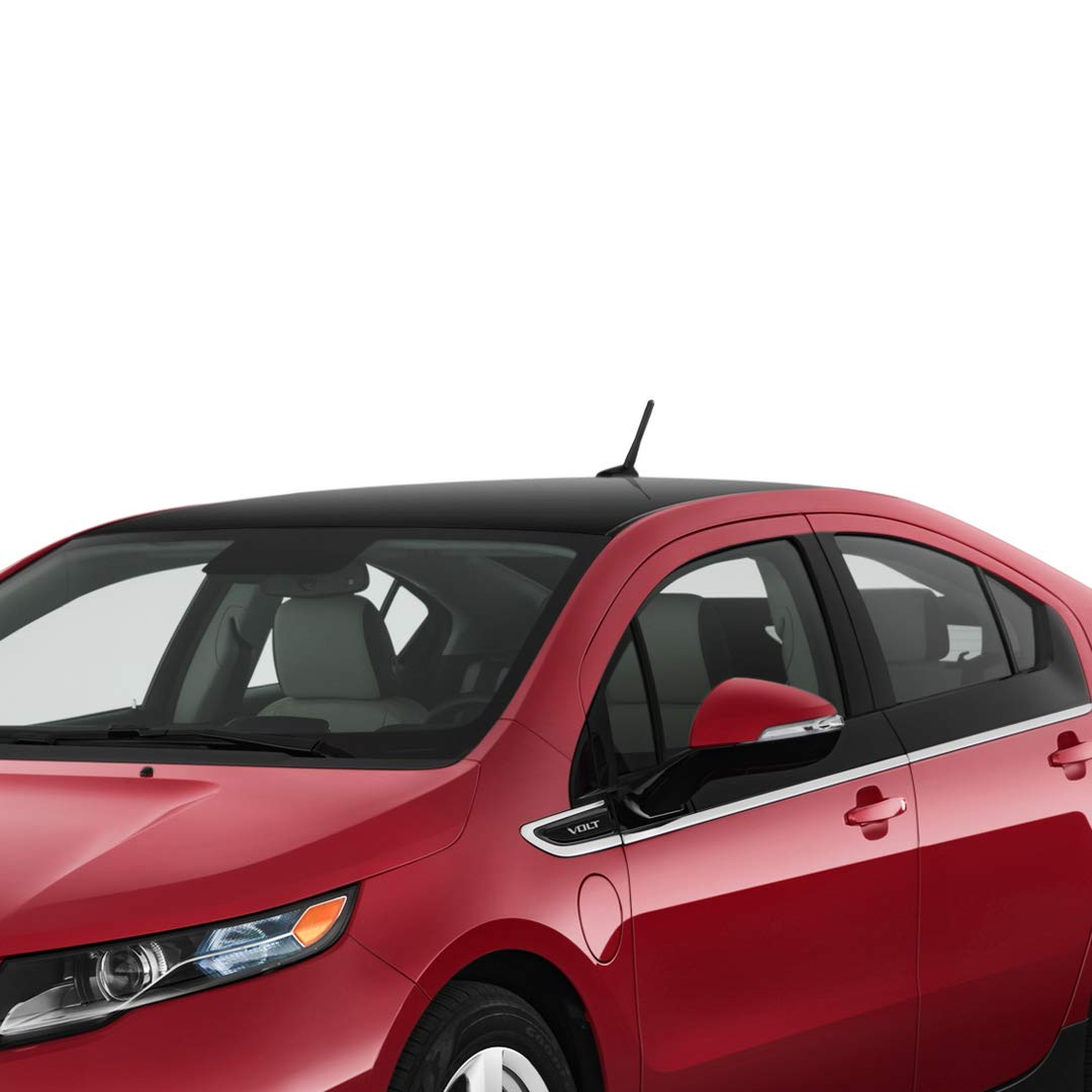 Maxracing Short Aluminum Antenna for 07 to 2017 Honda FIT