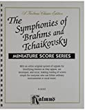 Symphonies of Brahms and Tchaikovsky (Kalmus Edition)