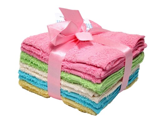 DELUXE 100 Cotton WASHCLOTHS Colors product image
